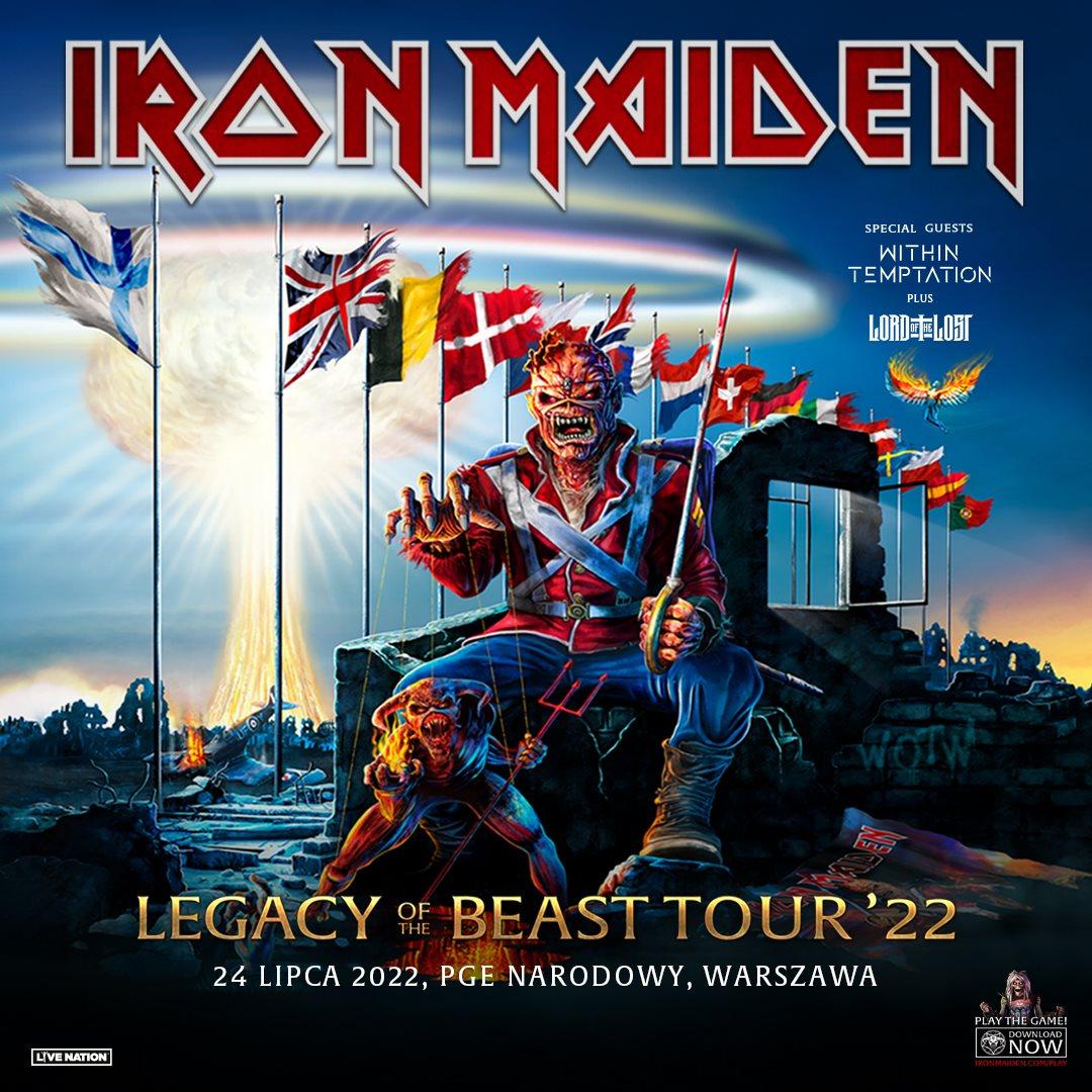 Legacy Of The Beast Tour Poland 2022